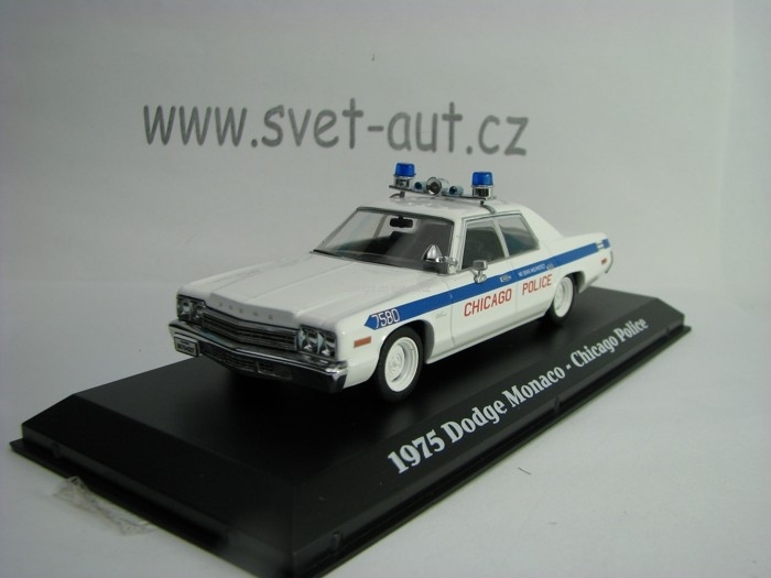 Dodge Monaco 1975 Chicago Police 1:43 Greenlight